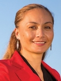 190613. News. Photo supplied by Green Party.Marama Davidson, Green Party candidate for the Ikaroa Rawhiti By-Election.